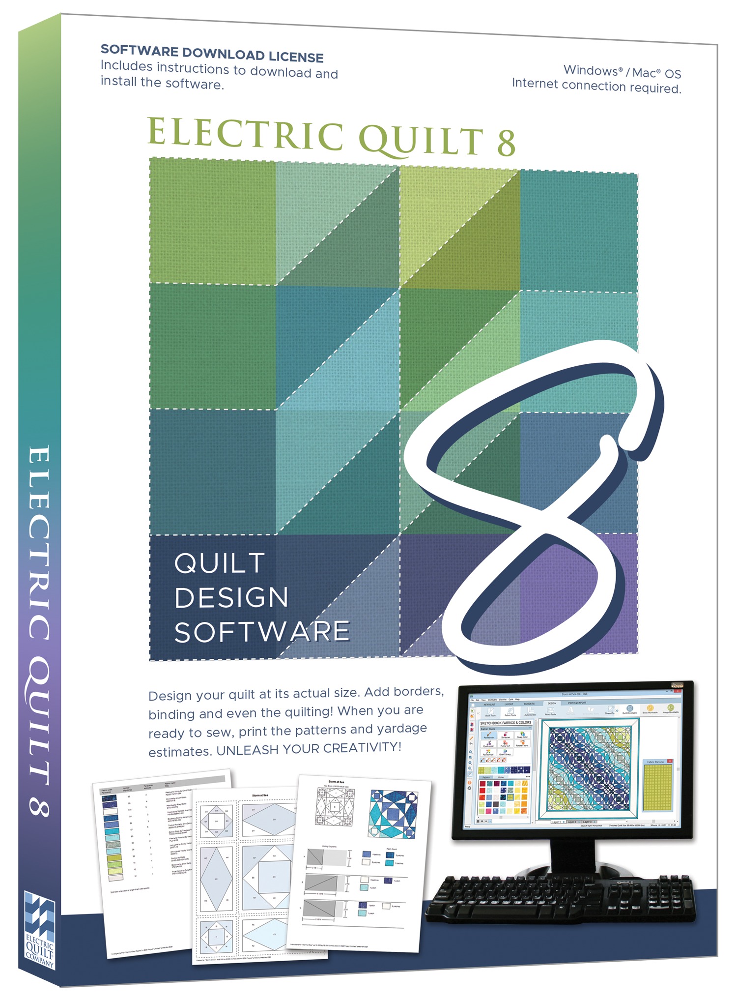 Rio Designs Patchwork Amp Quilting Software